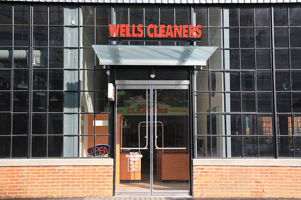 The Boilermaker Shops at the Yards now has its first operating retail tenant with Wells Dry Cleaners having at last opened its doors to the public. & Wells Cleaners Now Open in the Boilermaker Shops - JDLand.com: Near ...