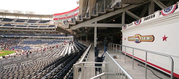 Nationals Park - estadio de los Nacionales de Washington Stadium-080322-gwgame-218