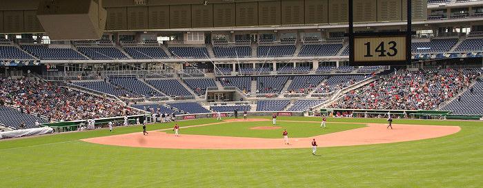 Nationals Park - estadio de los Nacionales de Washington Stadium-080322-gwgame-320