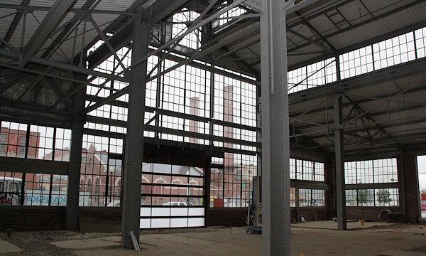 Inside the Boilermaker Shops, Under Construction - JDLand.com ...
