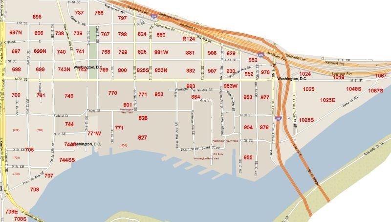 Near Southeast Washington DC RedevelopmentRevitalization
