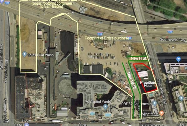 Some Details on Greystar's Hotel/Residential Project on New Jersey