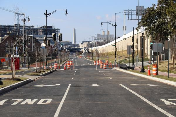 A Tour of the New Virginia Avenue. The Actual Road.