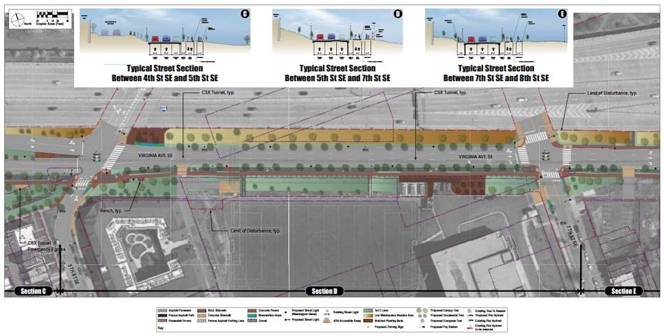 Virginia Avenue Restoration Schedule and Designs - JDLand
