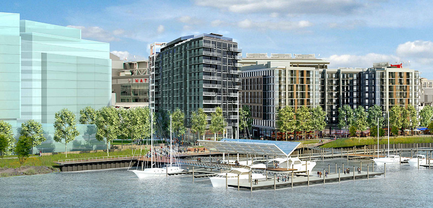 With The 305 Unit Dock 79 Apartment Building Very Close To Completion Developers Of Site On Anacostia River That Us Oldsters Still Refer As